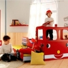 Fire Engine sliding bed