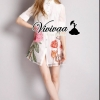Vivivaa recommend Tropical embroider dress