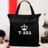 กระเป๋าผ้าสะพายข้าง : T-ARA