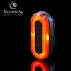 ไฟท้าย machfally BK400 ไฟสีแดงชาร์จ USB