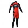 ชุดแขนยาวปั่นจักรยานลายทีม BMC Y7 กางเกงเป้าเจล
