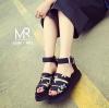 รองเท้าเกาหลีนำเข้าจ้า แบบล่าสุด ทำจากหนังนิ่มเกรด A พื้นนิ่ม ใส่สบายมากๆ