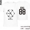 เสื้อยืด EXO Monster - KAI สีขาว