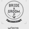ตราปั๊มงานแต่ง WD029