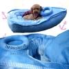 (พร้อมส่ง) ที่นอนสุนัข เรือสีฟ้า