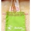 PB021กระเป๋าผ้าแคนวาสเลือกสีได้พร้อมสกรีน ม้วน ผูกโบว์