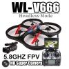 WL-V666 FPV 5.8 gz/โดรนบังคับแบบดูภาพหน้าจอ/ Real-time