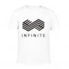 เสื้อยืด INFINITE สีขาวและดำ
