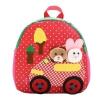 กระเป๋าเป้สะพายหลังเด็กอนุบาลเกาหลี (สีแดง)