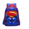 กระเป๋าเป้สะพายหลังลายนูน 3 มิติ Super-Man