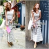 Lady Ribbon's Made Cool Summer Minimal Striped Maxi Dress