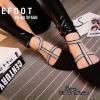 รองเท้าสวย คัชชูพื้นเตี้ยใส่สบาย งานกำมะหยี่ สวยเก๋ นิ่ม พื้นบุนวม ด้านในซับหนังนิ่ม