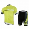 ชุดปั่นจักรยานแขนสั้นลายทีม SPECIALIZE N66 กางเกงเป้าเจล 20D