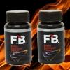 FB Fat burn อาหารเสริม ลดไขมันช่องท้อง สลายเซลลุไลท์ 2 กล่อง 30 Capsules/กระปุก