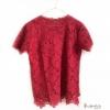 Lace Blouse Size 42 (สีแดง)