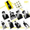 สติ๊กเกอร์ PVC - SJ M SWING 10 ใบ