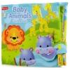 หนังสือผ้า Fisher price Baby animal counting book ส่งฟรี