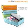 กล่องผ้า ใส่กางเกงใน ถุงเท้า หรือของใช้ส่วนตัว จัดเก็บให้เป็นระเบียบ มีฝาปิด พับเก็บได้