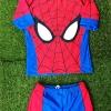 ชุดว่ายน้ำ Spider man มาพร้อมหมวกคลุมผม และถุงผ้า สินค้าถูกลิขสิทธิ์ ของแท้ ส่งฟรี