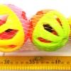 บอลกระดิ่ง 3 ลูกถุงตาข่าย 23 ซม.