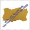 อิฐตัวหนอนสีเหลือง