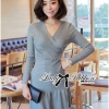 Lady Lisa Formal Chic Evening-wear Knit Dress