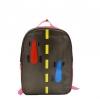 กระเป๋าเป้เด็กสำหรับคุณหนู (สีน้ำตาล-ชมพู)
