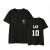 "เสื้อยืด EXO Planet #4 – ""The EℓyXiOn"" - LAY"