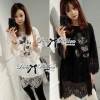Lady Ribbon's Made Lady Elisa Quirky Glam Mickey Mouse Lace Dress