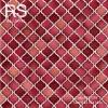 วอลเปเปอร์ลายคลาสสิคผิวเงาสีแดงส้ม NF2-C48