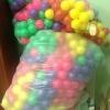 ลูกบอล 100 ลูก ขนาดลูกบอล 2.8 นิ้ว ยี่ห้อ Apex