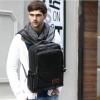พร้อมส่ง กระเป๋าเป้ ผู้ชาย สีดำ ช่องเก็บของเยอะ จุของได้เยอะ