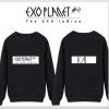เสื้อแขนยาว EXO LUXION - KAI สีดำ
