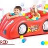 บ่อบอลเป่าลมลายรถสีแดง พร้อมบอล30ลูก