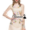 Vivivaa recommend Cream glitter flora dress