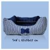ที่นอนสุนัข เบาะนุ่ม สีน้ำเงิน (พร้อมส่ง)