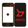เคสไอโฟน 4/4s BLOCK B (สีดำ)