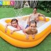 สระน้ำเป่าลมสี่เหลี่ยมขนาดครอบครัว.. เล่นน้ำได้หลายคน ถ้าไม่ใส่น้ำใส่ลูกบอล ** จัดส่งฟรีขนส่งเอกชนคะ