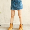 กระโปรงกางเกงยีนส์ ขาสั้น size 120