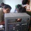 บรรยากาศในห้องเรียน คอร์สปัจจุบันที่กำลังเรียนอยู่,สอนซ่ิอมและประกอบคอมพิวเตอร์สายสี่