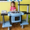 ชุดโต๊ะครัว มีเตาอบ มีไฟ มีเสียง (สูง 90 ซม.) พร้อมอุปกรณ์มากมาย