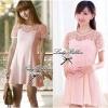 Lady Sweet Chic Day-to-Night Mini Dress