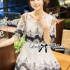 Lady Ribbon's Made Lady Elena Sweet Vintage Embroidered Cotton Dress