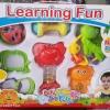 เขย่ามือ เด็กเล็ก Baby Rattle learning fun 8 ชิ้น ส่งฟรี