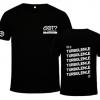 เสื้อยืด GOT7 TURBULENCE IN USA สีดำ