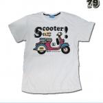 เสื้อยืดชาย Lovebite Size XL - Scooter