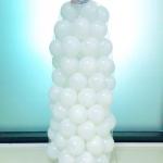 ลูกบอลของเล่นเด็กสีขาวล้วน นวัตกรรมใหม่ป้องกันแบคทรีเรีย