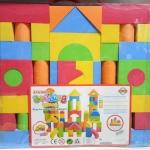 Eva Blocks บล็อคโฟม สำหรับเด็ก 54ชิ้น