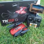 TK110 Skytech RC drone โดรนเซลฟี่พับขาเก็บได้ ควบคุมด้วยสมาร์ทโฟน