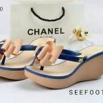 รองเท้า Style Brand Chanel แบบคีบ แตะซิลิโคน นิ่มมาก